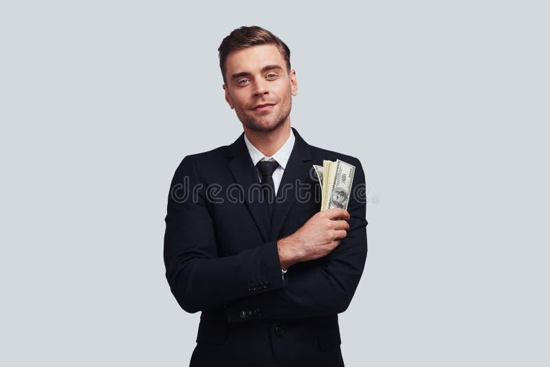 Ora faccia i soldi! immagine stock libera da diritti
