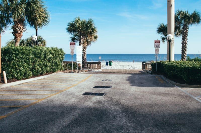 Ora legale a Myrtle Beach immagini stock