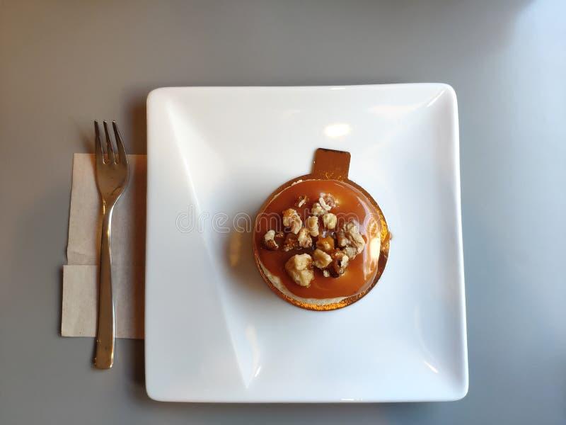 Ora mangerò il dessert immagini stock libere da diritti
