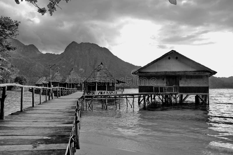 Ora plaża Ambon obrazy royalty free