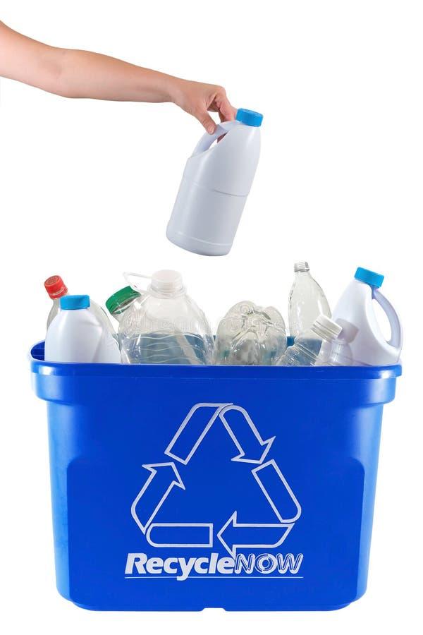 Ora ricicli! fotografia stock libera da diritti