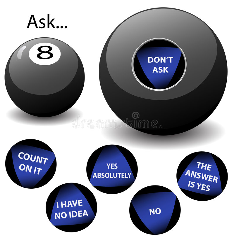 Free Oracle 8 Ball Stock Image - 1855171