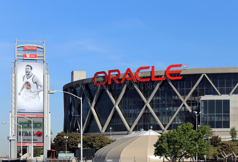 Oracle-Arena stockbilder