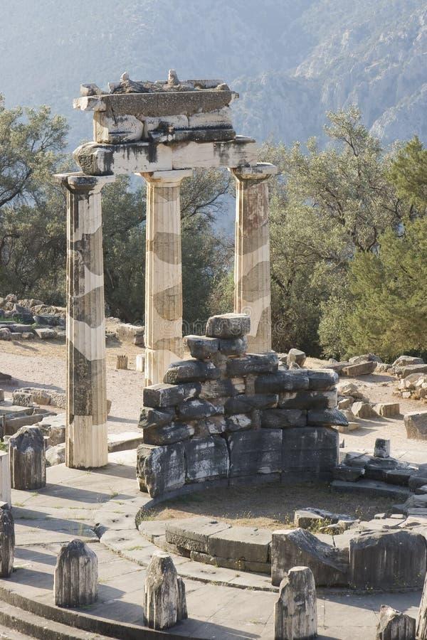 ORACLE Grecia di Delfi immagini stock