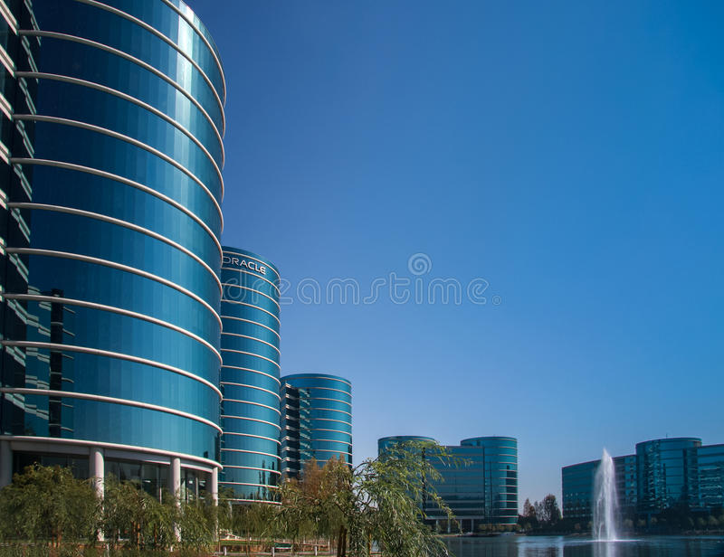 The Oracle Headquarters stock photo