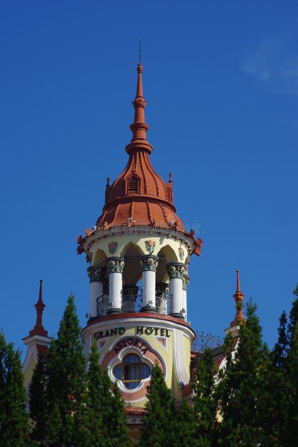 Oradea, гостиница Astoria стоковое изображение rf