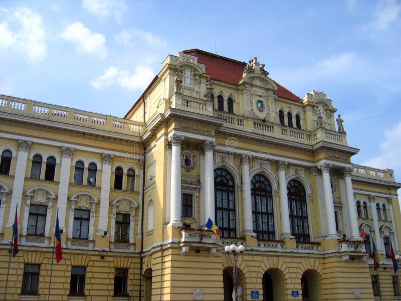 Oradea City Hall, Romania royalty free stock photos