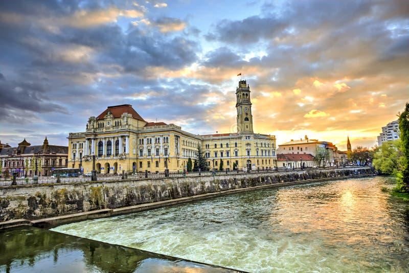 Oradea city, Romania royalty free stock photography