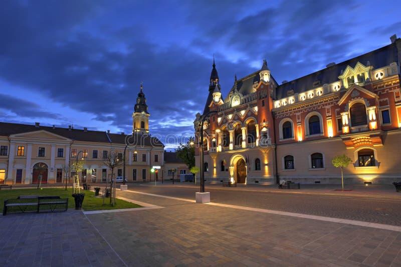 Oradea miasto, Rumunia zdjęcia stock