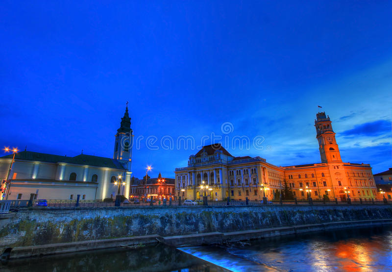 Oradea, Romania royalty free stock photo