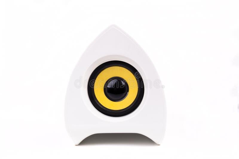 Orador branco foto de stock