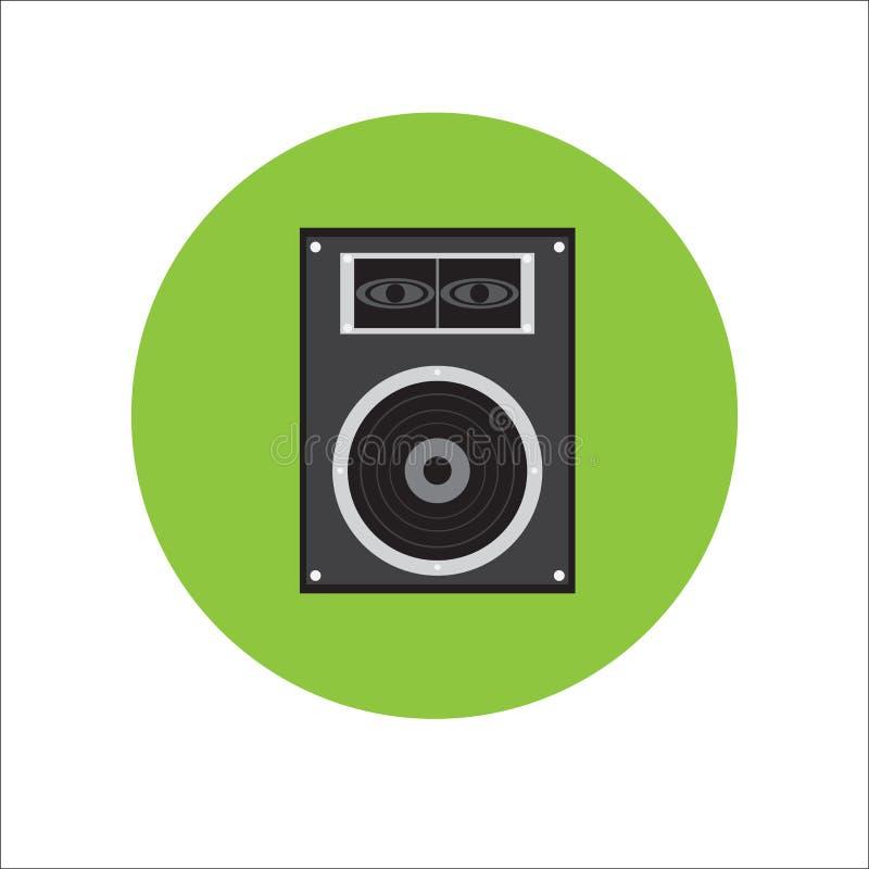 Orador da música imagens de stock royalty free
