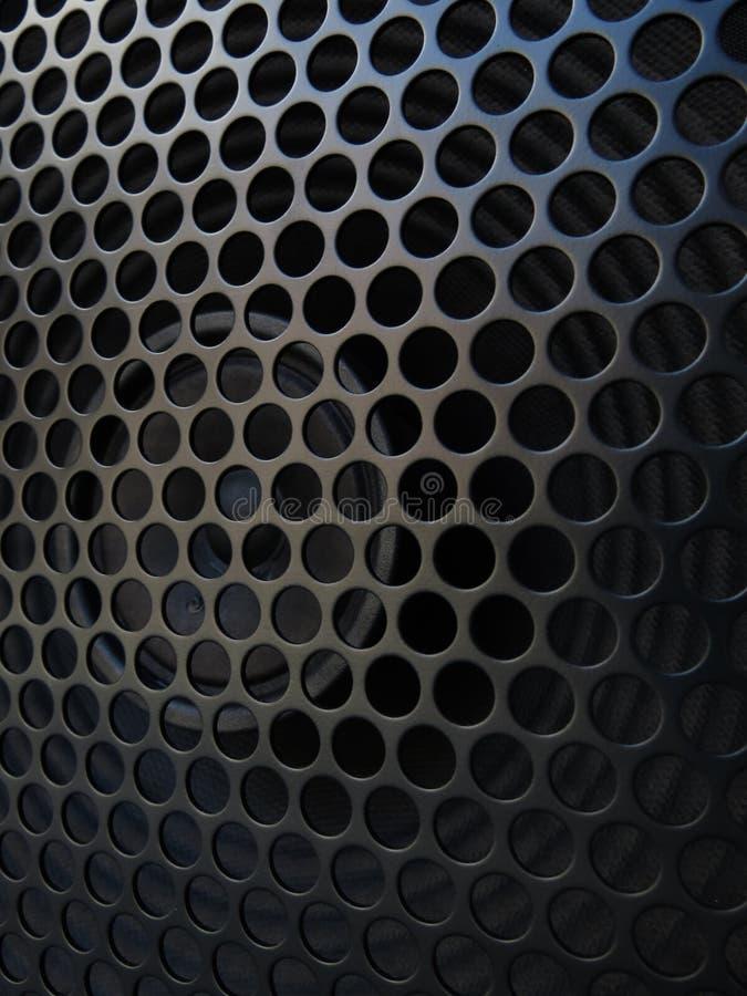 Orador do amplificador da guitarra com detalhe da grade fotos de stock royalty free