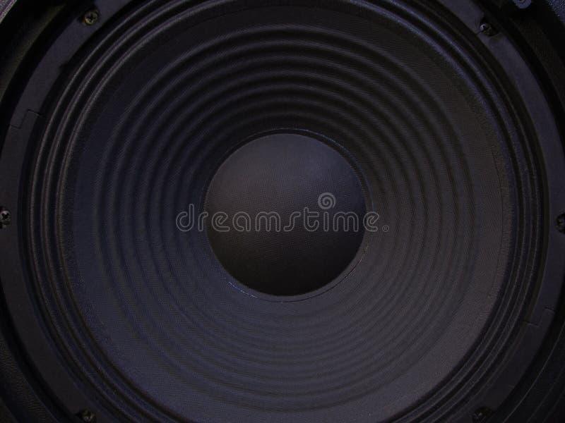 Orador do baixo preto fotos de stock