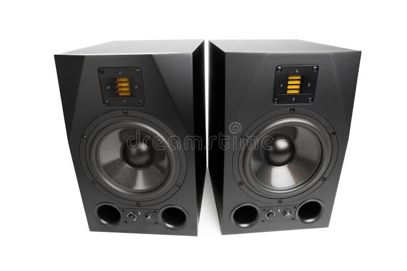 Oradores audio foto de stock royalty free