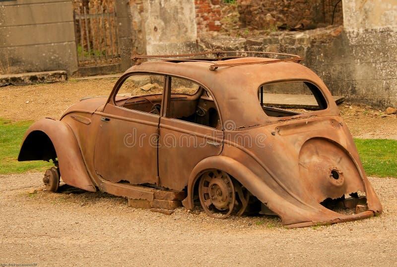 Oradour (Francia) foto de archivo