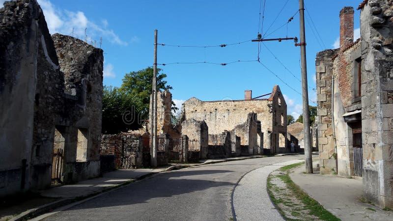 Oradour sur Glane fotografering för bildbyråer