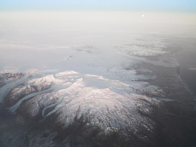 Oraefajokull Volcano Iceland lizenzfreie stockfotos