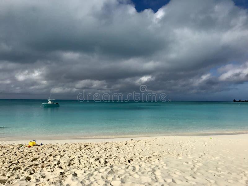 Orageux en Bahamas image libre de droits