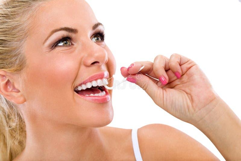 Oralna higiena zdjęcie royalty free
