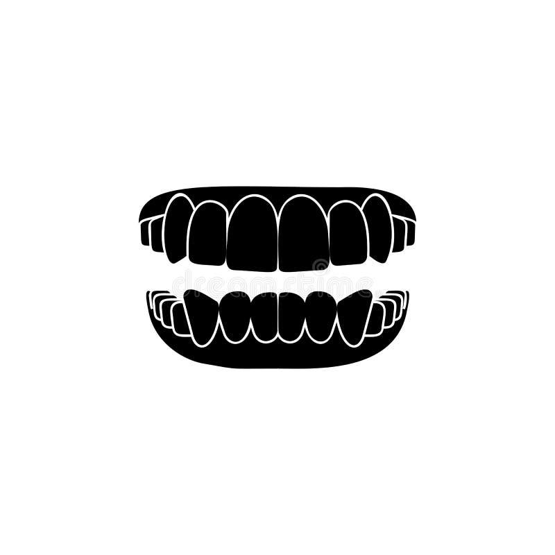 oralnego zagłębienia ikona Elementy stomatologiczna ikona Premii ilości graficzny projekt Znaki i symbol inkasowa ikona dla stron ilustracji