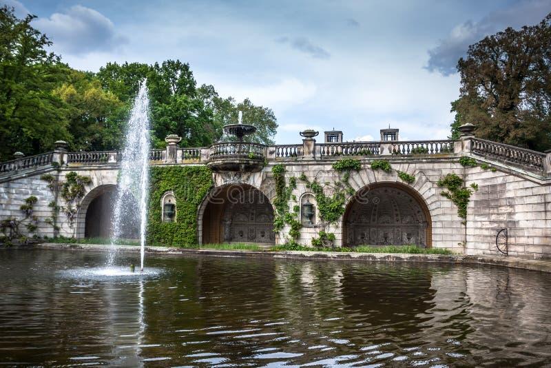Oranżeria pałac w Parkowym Sanssouci, Potsdam, Niemcy obrazy royalty free