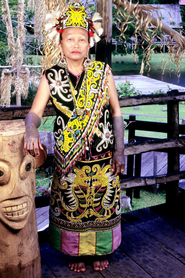 Orang Ulu Editorial Image