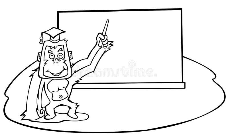 Download Orang-Utan vektor abbildung. Illustration von orange, kunst - 9078295