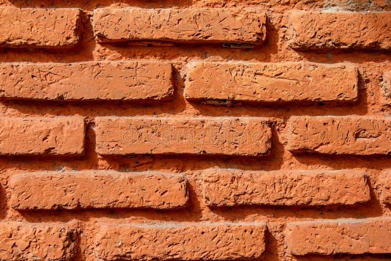 Orang-Utan-Backsteinmauer lizenzfreie stockfotografie
