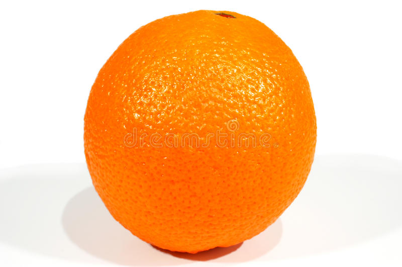 Orange. Isolated on white background