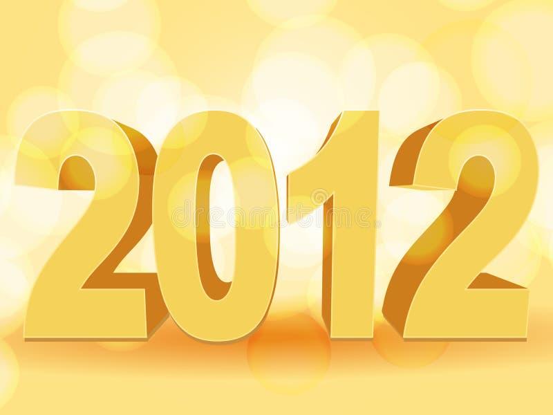 Download Orange 2012 stock vector. Illustration of 2012, glow - 22488470