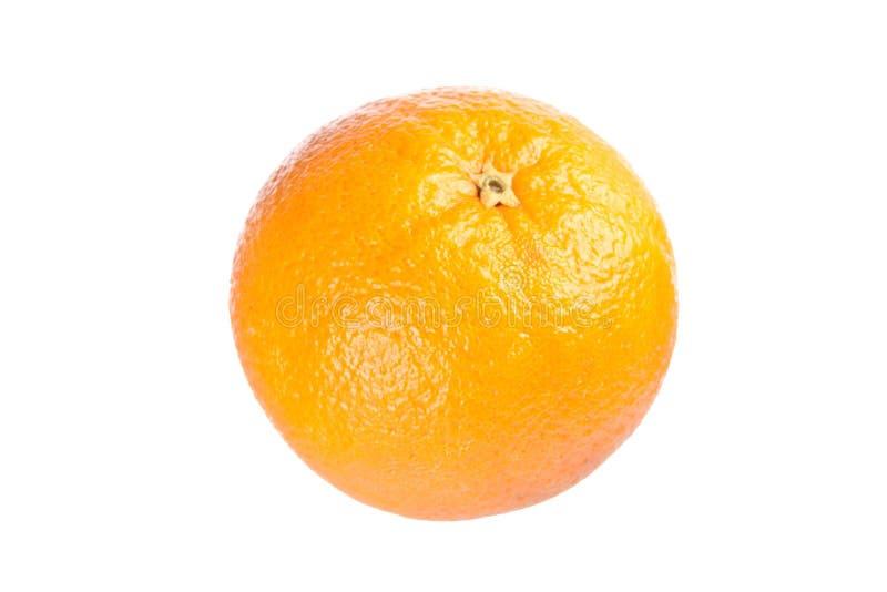 Orange. Isolated on white background royalty free stock photography