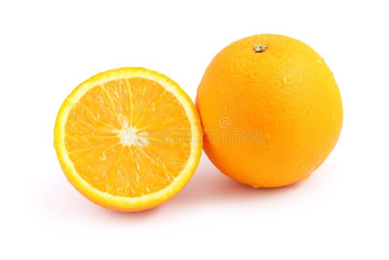 Download Orange stockfoto. Bild von ebene, halb, frucht, nahrung - 9090296