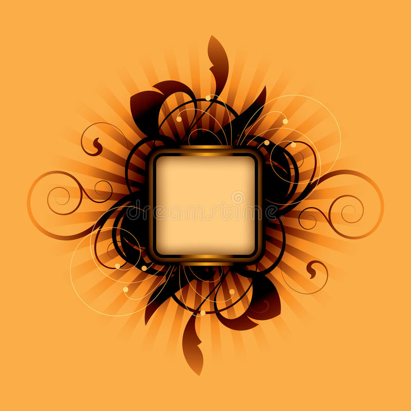 Free Orange Abstract Royalty Free Stock Photos - 9818518