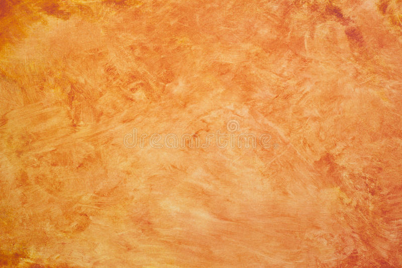 Orange Abstract Acrylic Background stock photography
