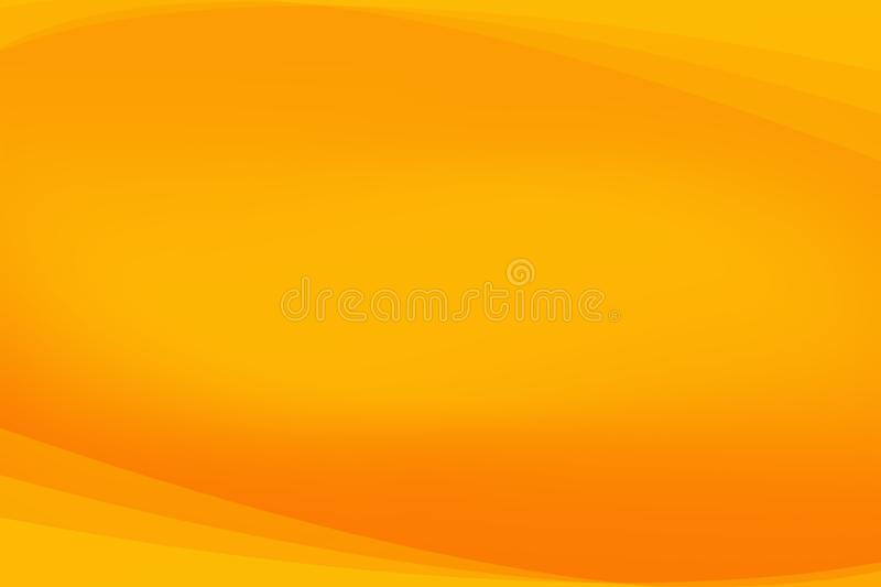 Orange abstract background, shape abstract background. Orange and shape abstract background, the light motion blur abstract background stock illustration