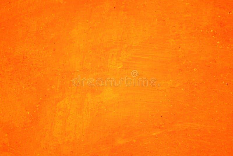 Orange abstract background texture. Blank for design. Dark orange edges stock image
