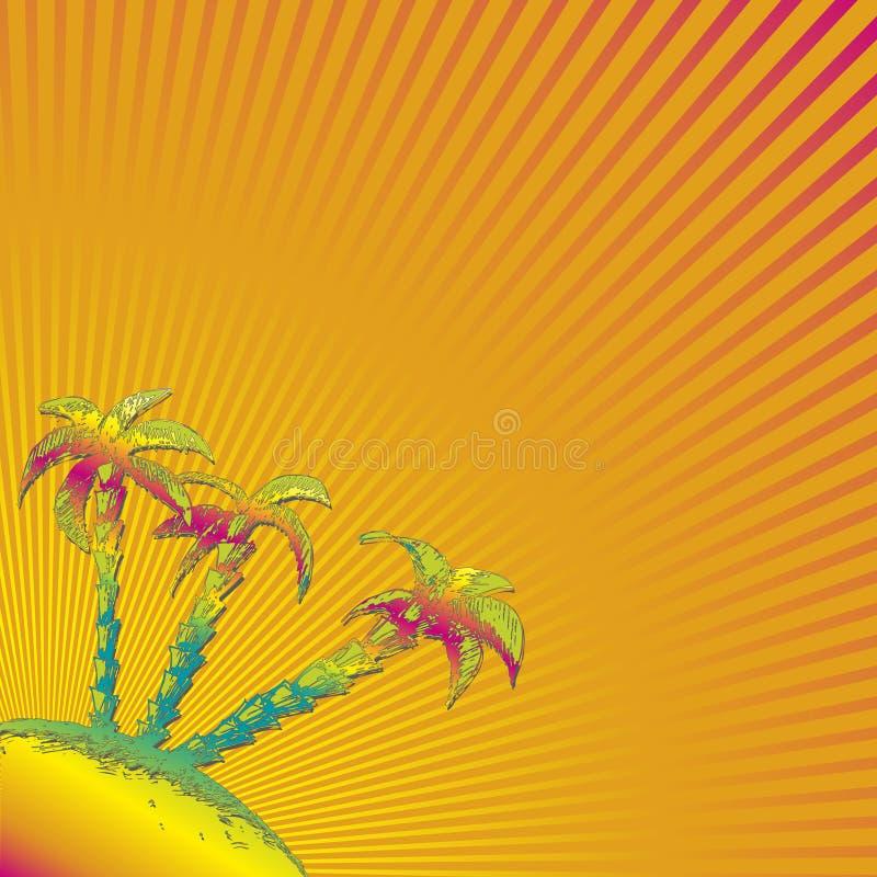 Orange abstrakter Hintergrund vektor abbildung