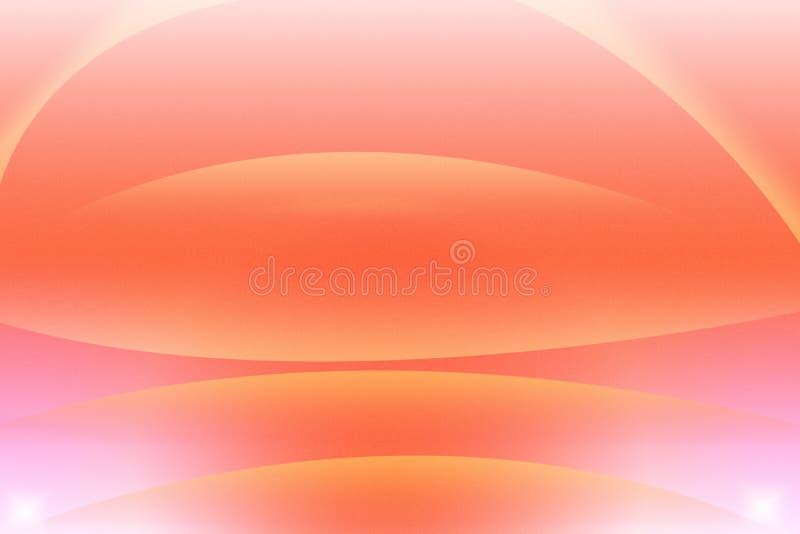 Orange abstrakter Hintergrund mit Kreis stockfotografie