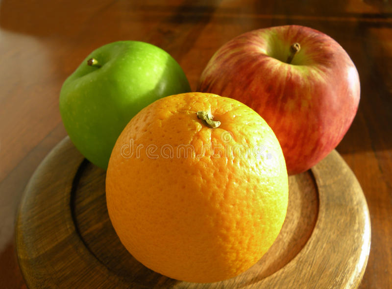 Download Orange and apples stock photo. Image of citrus, tasty - 16409956