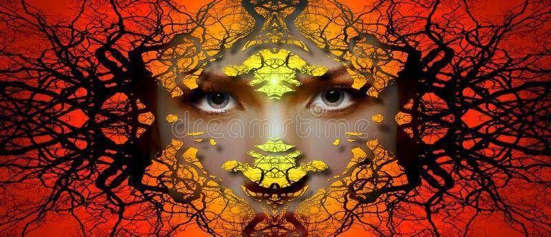 Orange, Art, Fractal Art, Computer Wallpaper Free Public Domain Cc0 Image