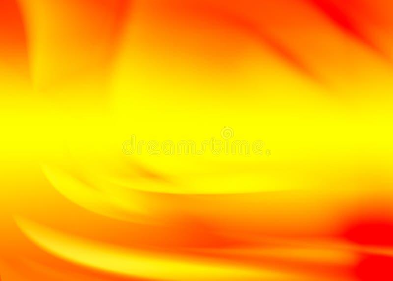 Orange Auszug stock abbildung