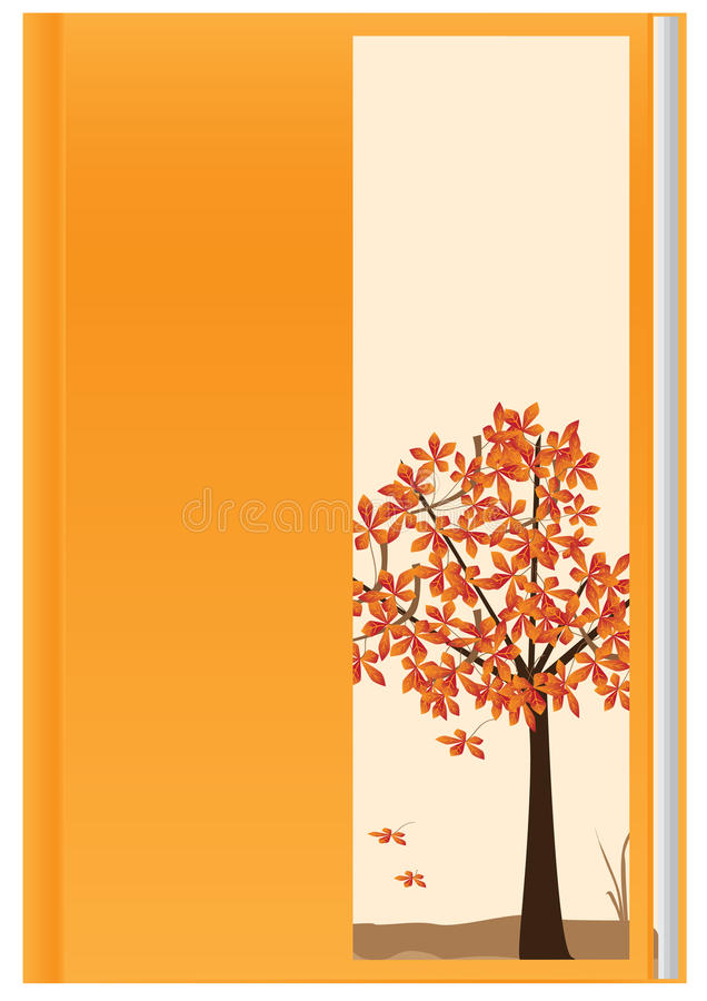 Download Orange Autumn Book_eps stock vector. Image of fantasy - 16411723