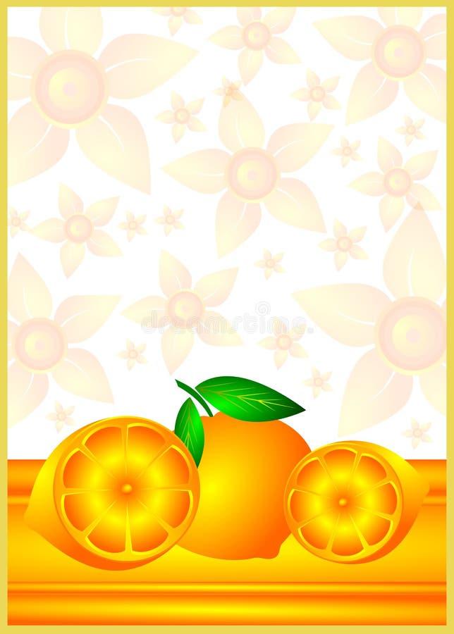 Orange background stock photo