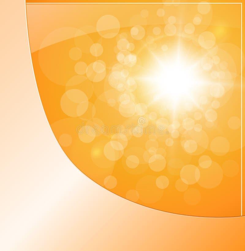 Download Orange Background stock vector. Image of bright, retro - 23202159