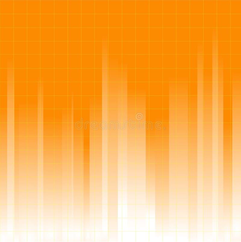 Orange Background royalty free illustration