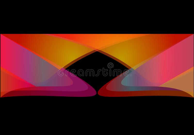 ORANGE BACKGROUND FOR BANNERS AND WEB DESIGNS WILL ADD THE FIRST LUXURY IMAGE SEE royalty free illustration