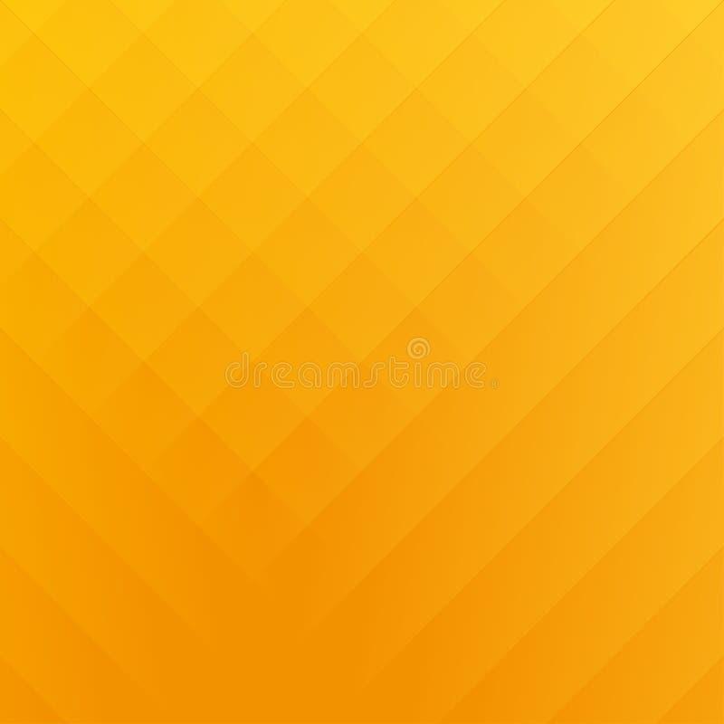 Orange background stock illustration