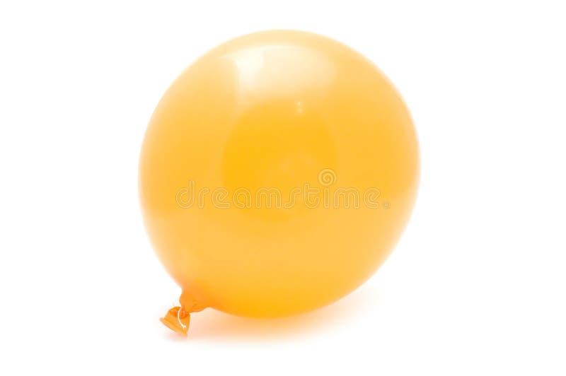 Orange ballon stock photography