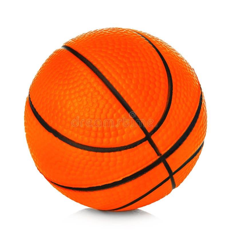 Free Orange Basket Ball Close-up Isolated On A White Background Stock Photo - 152194810